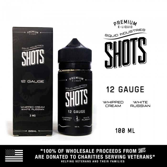 Squid Shots 12 Gauge - 100ml (MSRP$25)