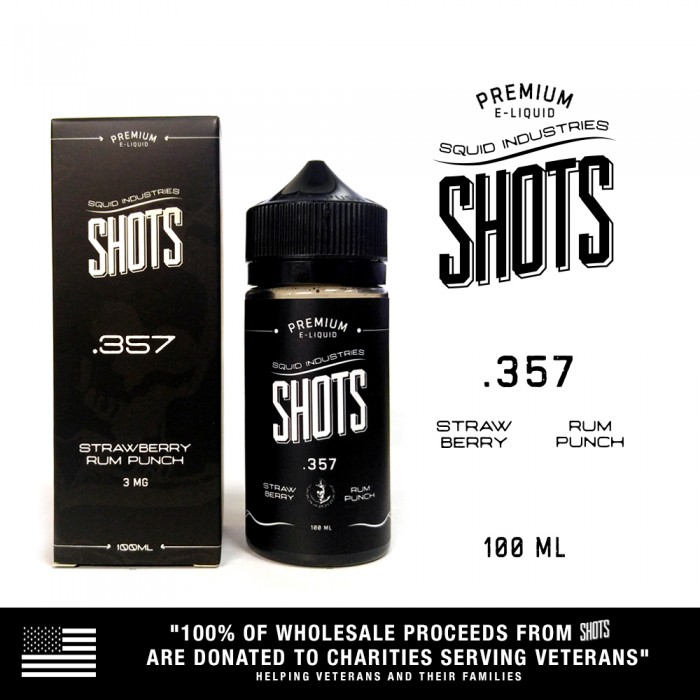 Squid Shots .357 - 100ml (MSRP$25)