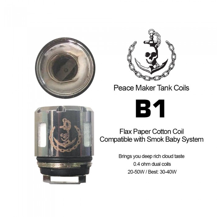 Peace Maker - B1 Coils (2pcs/pack)