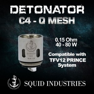 DETONATOR C4-Q MESH Coils (3pcs/pack)