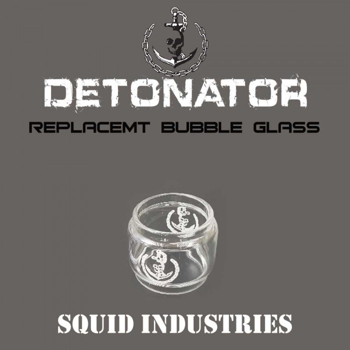 DETONATOR Tank Replacement Glass - 1pcs