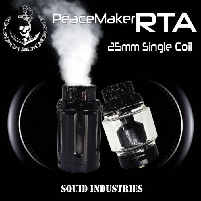 PeaceMaker RTA_25mm /  Single Deck  (MSRP $47.99)