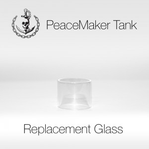 PeaceMaker Tank Replacement Glass - 1pcs