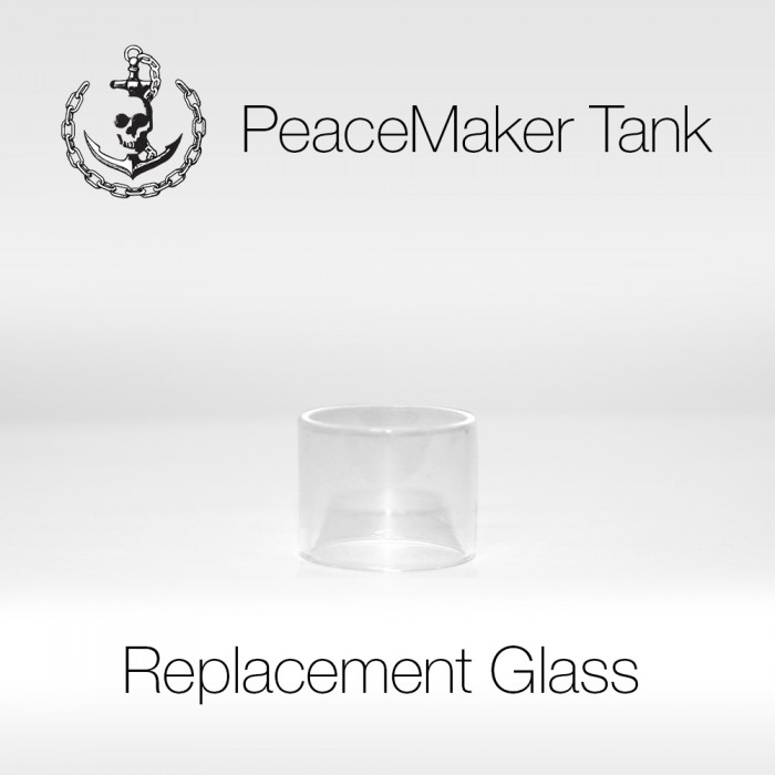 PeaceMaker Tank Replacement Glass - 1pcs