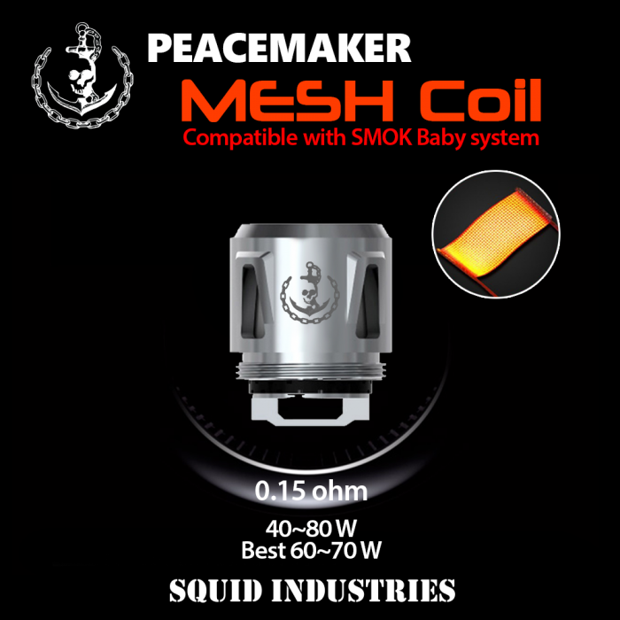 PeaceMaker MESH Coils (5pcs/pack)